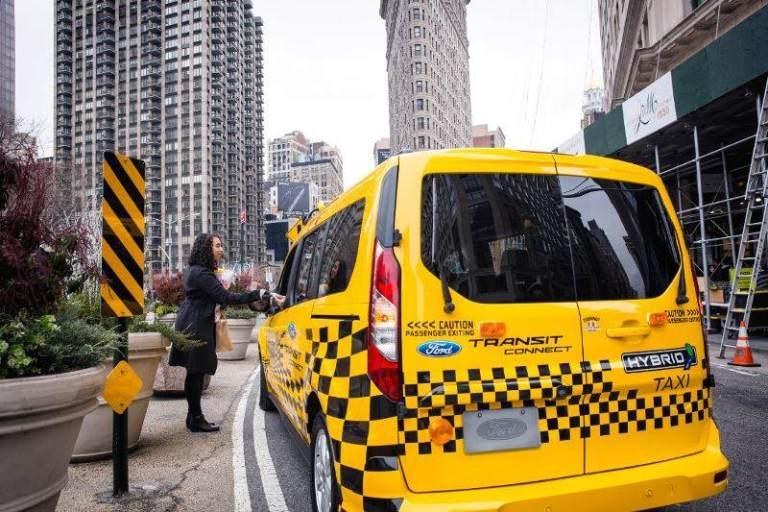 taxi car